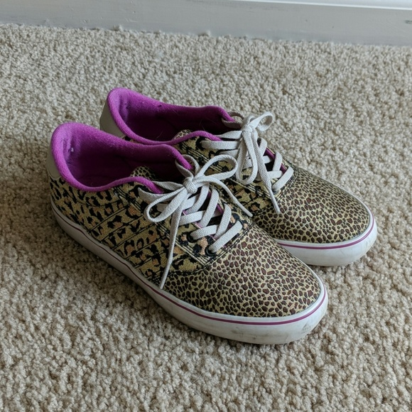 official photos good reputable site Adidas leopard animal print sneakers